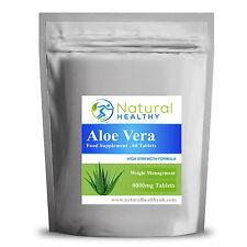90 Aloe Vera Max 6000MG Detox healthy weight loss health and beauty tablets