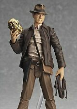 "Genuine figma Indiana Jones ""Raiders of the Lost Ark"" action figure from Japan"