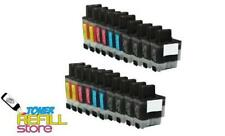 8 LC-41BK 12 LC-41 NEW Ink Cartridges for Brother DCP-110C MFC-3340CN MFC-210C