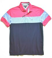 Tommy Hilfiger Men's Colorblock Short Sleeve Polo Size: XL