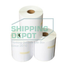 "4 Rolls 4x6 Thermal Labels 1000 Labels for Zebra Eltron 2844 Printers 4"" x 6"""
