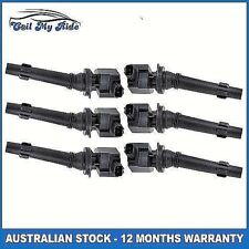6 x Ignition Coil for FPV F6 F6E Ford Territory Falcon G6 G6E 6 Cyl. 4.0L Engine