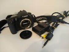 Canon EOS 10D 6.3MP Digital SLR Camera 2gb Video Card Charger Playbac Cord WORKS