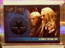 Harry Potter-Jason Isaac-Lucius Malfoy-DH Pt 1-Screen Used-Movie-Costume Card-C5