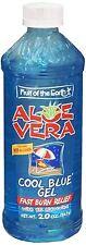 Fruit of the Earth Aloe Vera Cool Blue Gel 20 oz