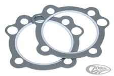 "ACCEL HARLEY CYLINDER HEAD GASKETS 3 5/8"" BIG BORE EVO BIG-TWINS PAIR  BC38290 T"
