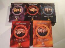 Stargate Atlantis complete series dvd seasons 4,5,6, & 8,9