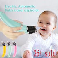 Electric Nasal Aspirator Safe Hygienic Nose Cleaner Booger Ergonomic Snot Sucker