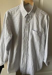 Brooks Brothers Mens 15.5/32 Plaid Button Up Dress Shirt