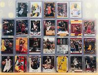 (26x) Lebron James NM/M MINT Cleveland Cavs & Miami Heat NBA Basketball Card Lot