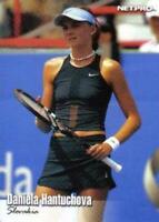 40) DANEILA HANTUCHOVA - Slovakia - 2003 NetPro Tennis Card #5 LOT