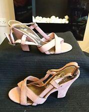Nuovo di Zecca Jasper Conran Jeans Donna Sandali Tacco A Blocco Misura 4/37
