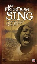 reduced! Let Freedom Sing! Music of the Civil Rights Movement 3cd LiKE NEW!