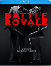 New! Battle Royale Director's Cut Blu-ray - Hunger Games precursor Fukasaku