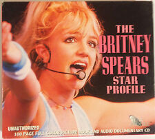 The Britney Spears Star Profile / Book + Audio CD Documentary Ex+ 1999 Germany