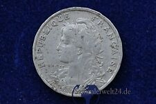 alte Münze 25 Centimes  1904 Republique Francaise