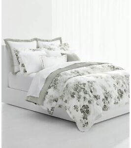Ralph Lauren Floral 3-Pc. Cotton FULL/QUEEN Duvet Cover & Shams Set GREY H.