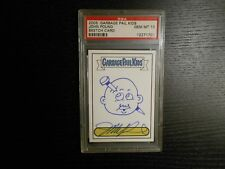 2005 Topps GARBAGE PAIL KIDS John Pound Autograph Sketch Card PSA 10 (GEM-MINT)