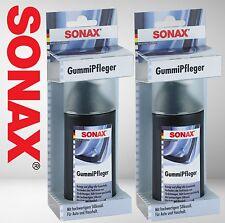 2x SONAX Gummipfleger Gummipflege Stift 100 ml 340000