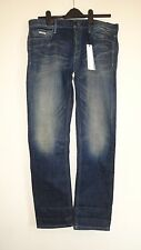 "NEW CALVIN KLEIN  BOYFRIEND JEANS WAIST 29"" LEG 32"" BLUE DENIM TROUSERS  AUTH"