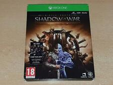 Middle Earth Shadow of War Steelbook Gold Edition Xbox One (NB) **FREE UK POST**