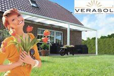 Heroal Alu Terrassenüberdachung 410x360 Cm Terrassendach Überdachung VSG Glas