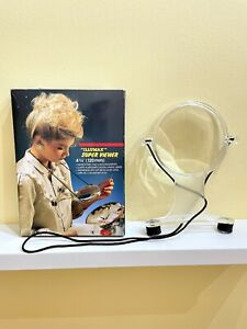 Large Hand Free Magnifying Glass, Handy For Reading, Crafting. Super Viewer