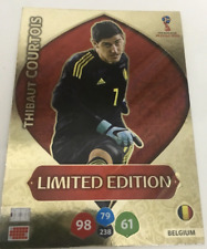 Panini Adrenalyn World Cup 2018 Limited Edition Thibaut Courtois Belgium RARE