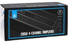 JL AUDIO MX280/4 MARINE MOTORSPORT 4-CHANNEL AMPLIFIER  CLASS D FREE SHIPPING