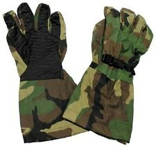 US Army Woodland Camouflage Goretex Finger Handschuhe Outdoor Gloves M / Medium