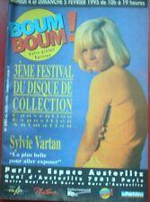 """SYLVIE VARTAN - TRES RARE MAGAZINE D'ANNONCES """"BOUM BOUM"""""""