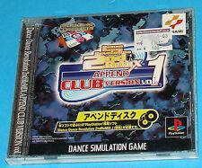 Dance Dance Revolution 2nd Remix Append Club Version Vol. 1 -  PS1 PSX Jap Japan