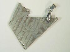 BUTW Russia Seymchan Meteorite Pendant Lapidary Necklace Jewelry 38 ct 9053E