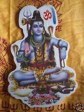 Aufkleber goa psy hippie sticker indien Shiva india  L
