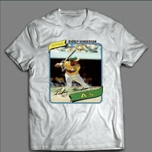 Rickey Henderson Classic Athletics Shirt Oakland MLB Champs Baseball 2021 Tee