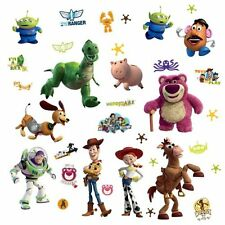 RoomMates RMK1428SCS Toy Story  Peel and Stick Wall Decals Glo-in Dark, 34 Count