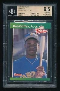 1989 Donruss The Rookies Ken Griffey Jr. BGS 9.5 Mariners Legend