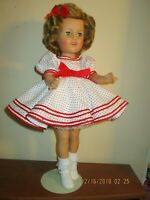 SPECIAL 10% OFF SHIRLEY TEMPLE DOLL 17  IDEAL 1957