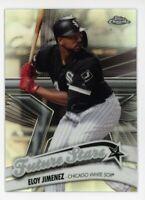 2020 Topps Chrome #FS-3 ELOY JIMENEZ Future Stars REFRACTOR Chicago White Sox