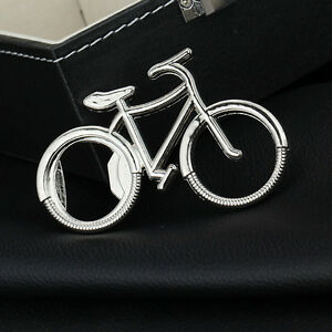 Bicycle Metal Beer Bottle Opener Bike Keychain Key Rings Wedding Party Gift DS