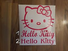 Hello Kitty Auto Aufkleber Sticker 60cm x 60cm Fun