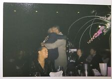 Vintage PHOTO Two African American Black Men Hugging Each Other