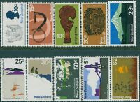 New Zealand 1970 SG925-934 Scenes MNH