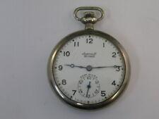 Vintage Ingersoll Pocket Watch 7 Jewels 50mm 1892-1893
