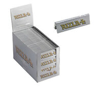 Original Rizla Silver Standard / Regular Size Rolling Papers 50 Booklets