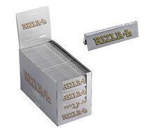 Original Rizla Silver Standard / Regular Size Rolling Papers 50 Booklets