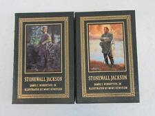 SIGNED James Robertson Jr STONEWALL JACKSON Mort Kunstler 2 Vol Set Easton Press