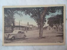 CPA carte postale ancienne MIREBEAU en POITOU Marchés aux veaux  route de Loudun