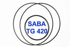 SET CINGHIE SABA TG 420 REGISTRATORE A BOBINE BOBINA EXTRA FORTI FRESCHE TG420