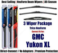 3-Pack Wipers Front/Rear NeoForm 2007 GMC Yukon XL 1500 XL 2500 - 162213x2/12E